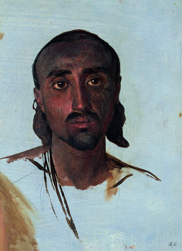 Charles Gleyre, Etude d'un Nubien, entre 1835 et 1837