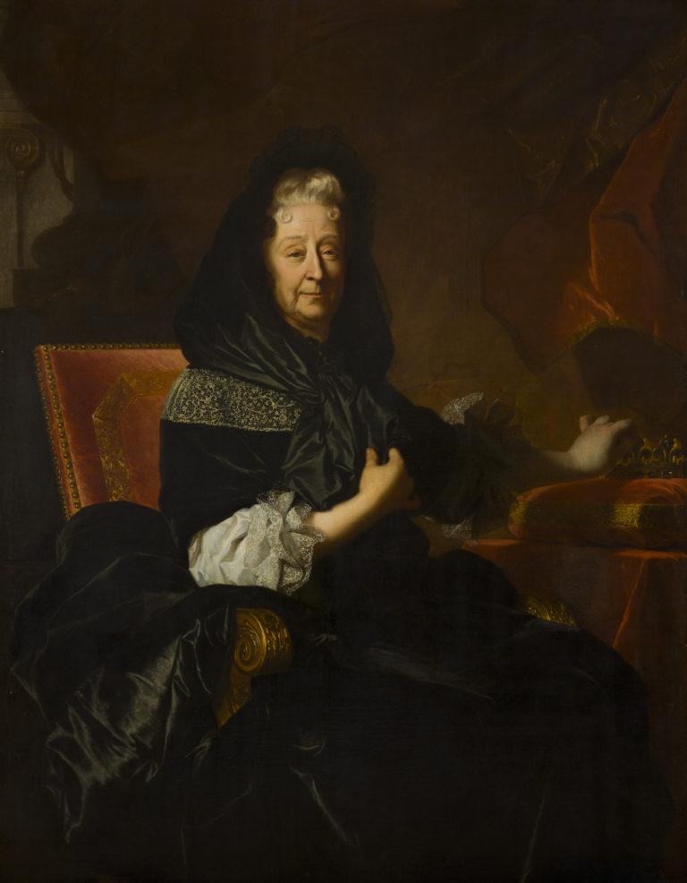 Hyacinthe Rigaud, Marie d'Orléans, duchesse de Nemours, 1705