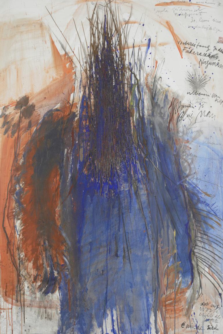 Rolf Iseli, Blauer Homme du jonc, 1976