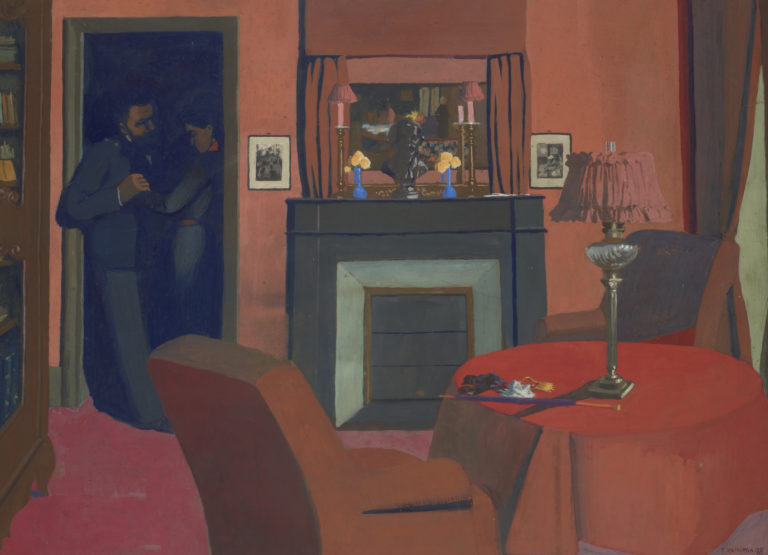 Félix Vallotton, La chambre rouge (The Red Room), 1898