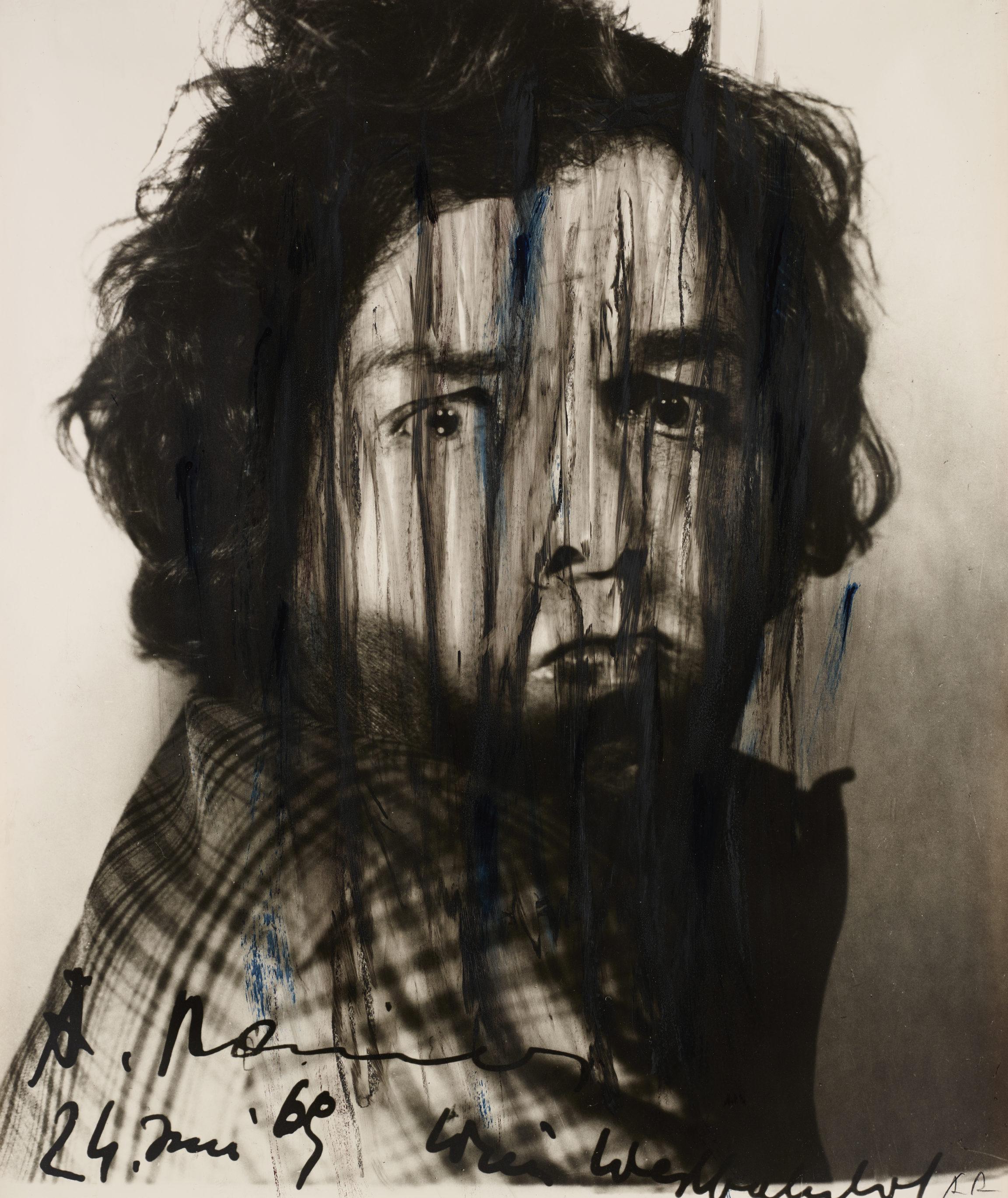 Arnulf Rainer, Ohne Titel (Face Farces) [Untitled (Face Farces)], 1969
