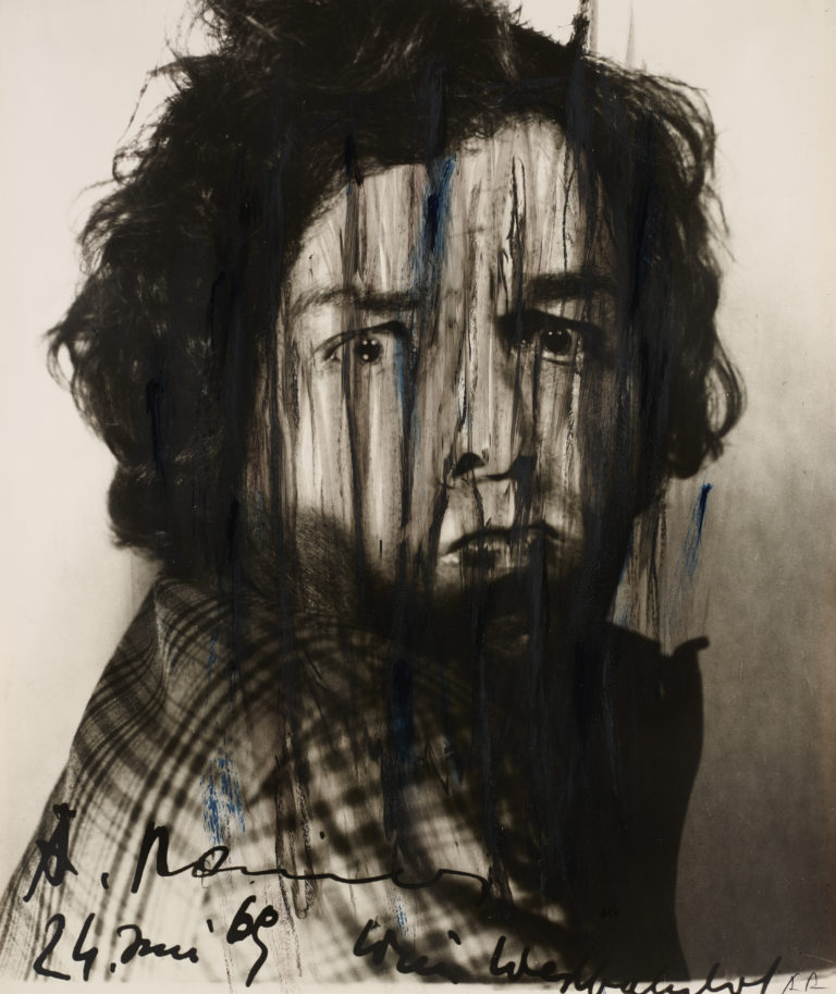 Arnulf Rainer, Ohne Titel (Face Farces) [Untitled (Face Farces)], 1969