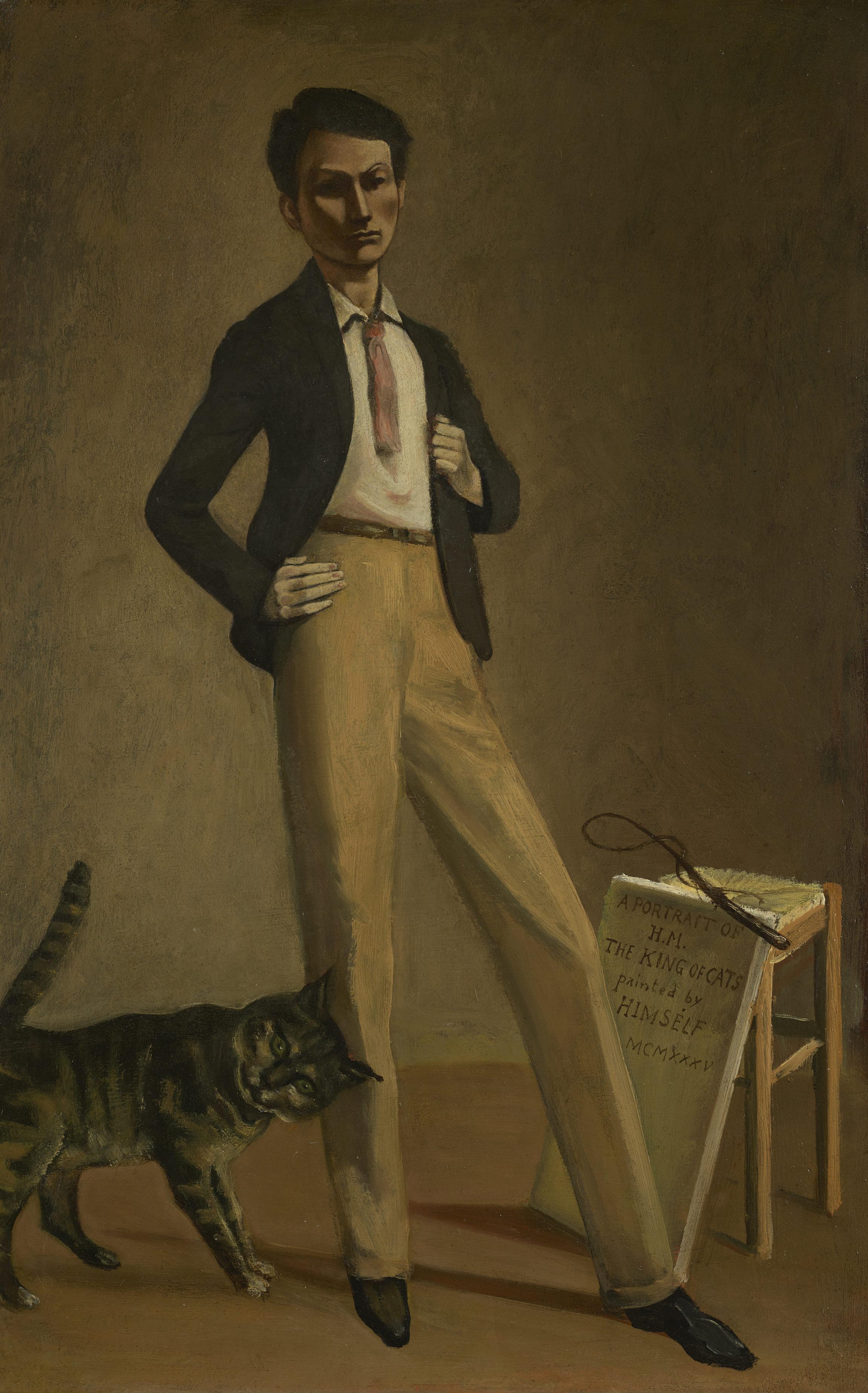 Balthus (Balthazar Klossowski de Rola, dit), Le Roi des chats, 1935