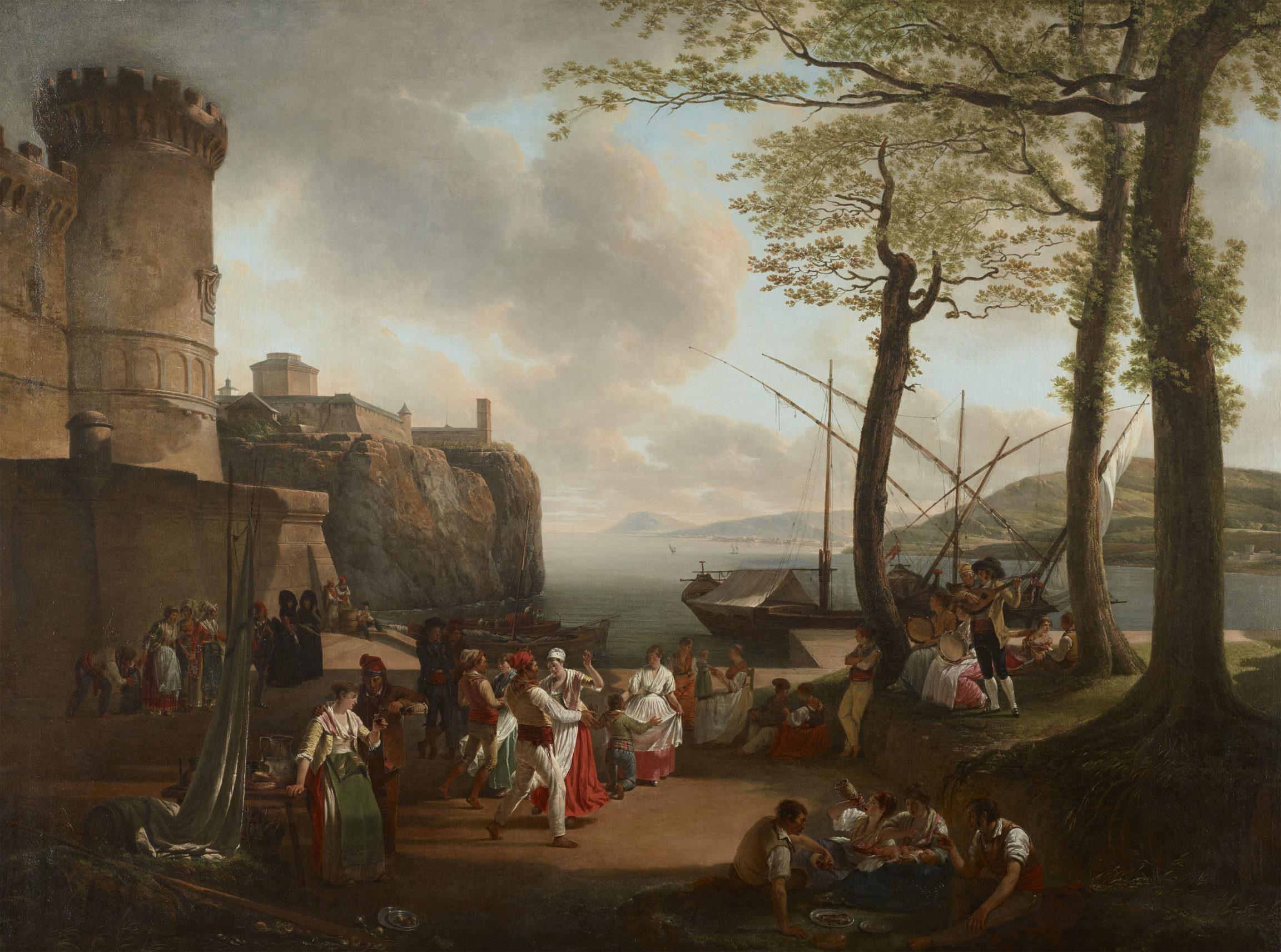 Jacques Sablet, La tarentelle (Tarentella), 1799