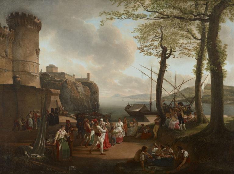 Jacques Sablet, La Tarentelle, 1799