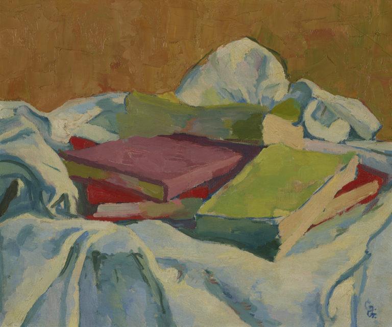 Giovanni Giacometti, Nature morte avec livres, vers 1907-1908