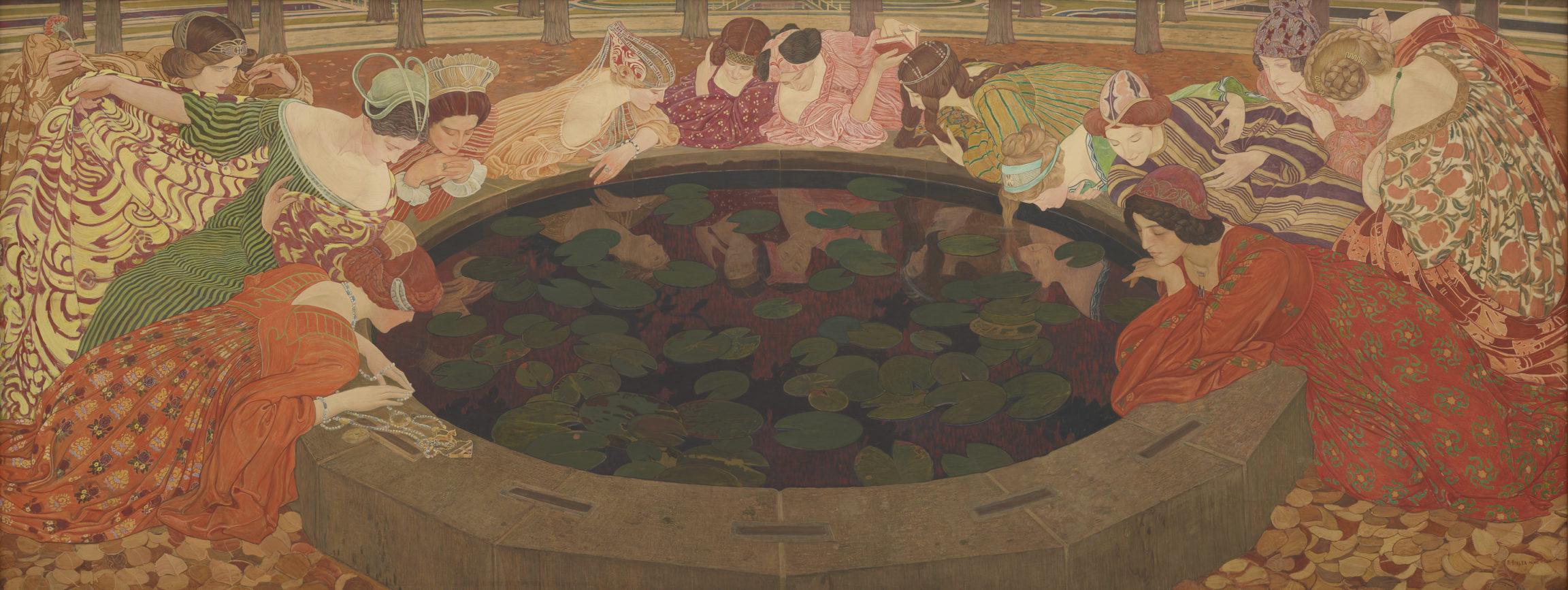 Ernest Biéler, L'eau mystérieuse, 1911