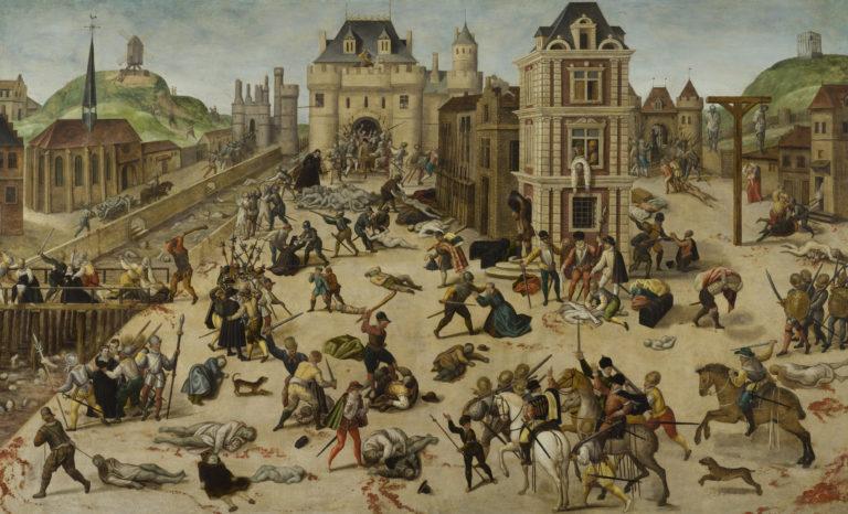 François Dubois, Le Massacre de la Saint-Barthélemy, vers 1572-1584