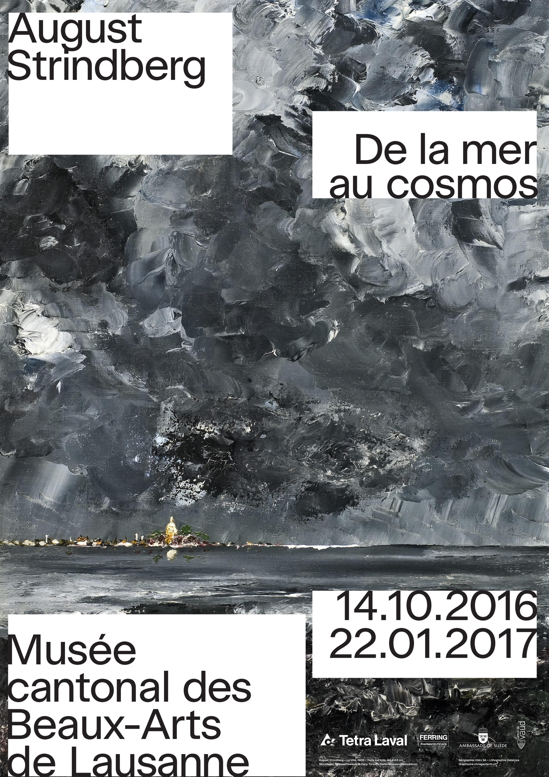 August Strindberg<br> De la mer au cosmos