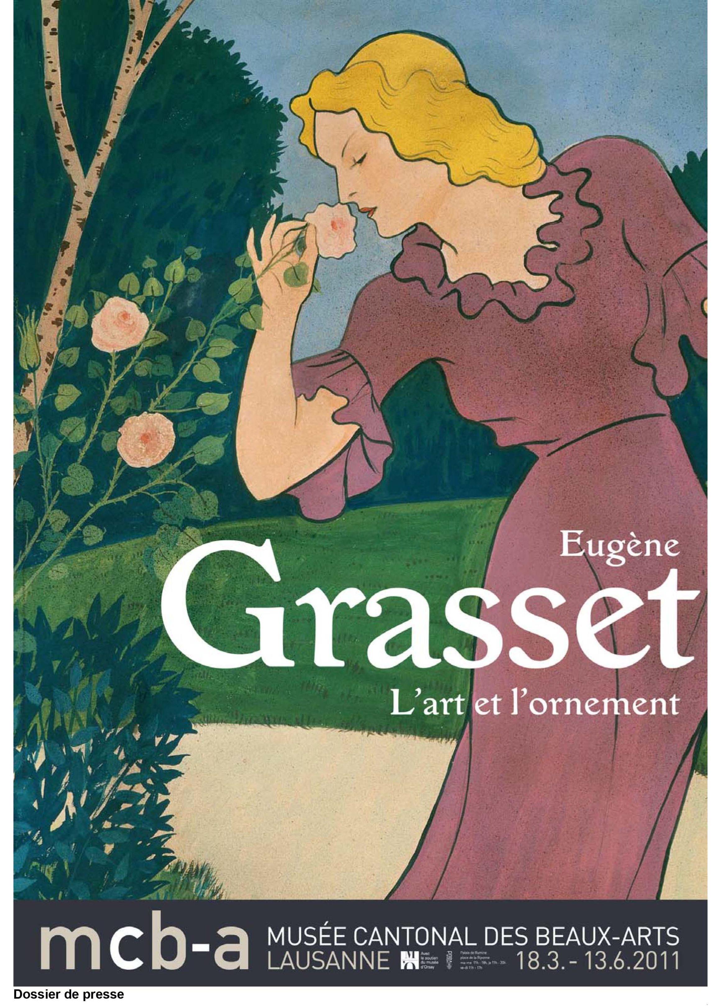 Eugène Grasset <br> L'art et l'ornement