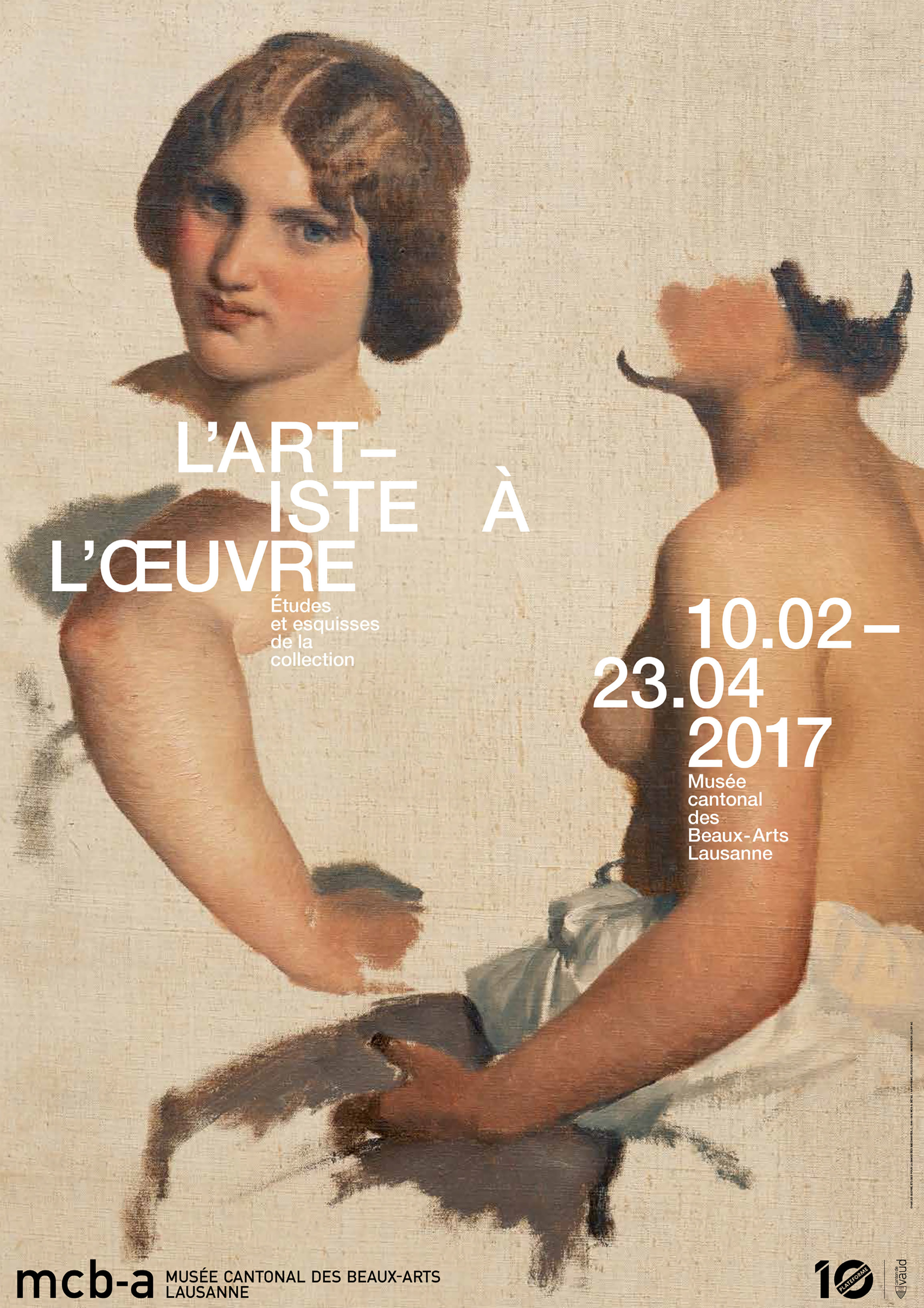 L'artiste à l'œuvre<br> Études et esquisses de la collection