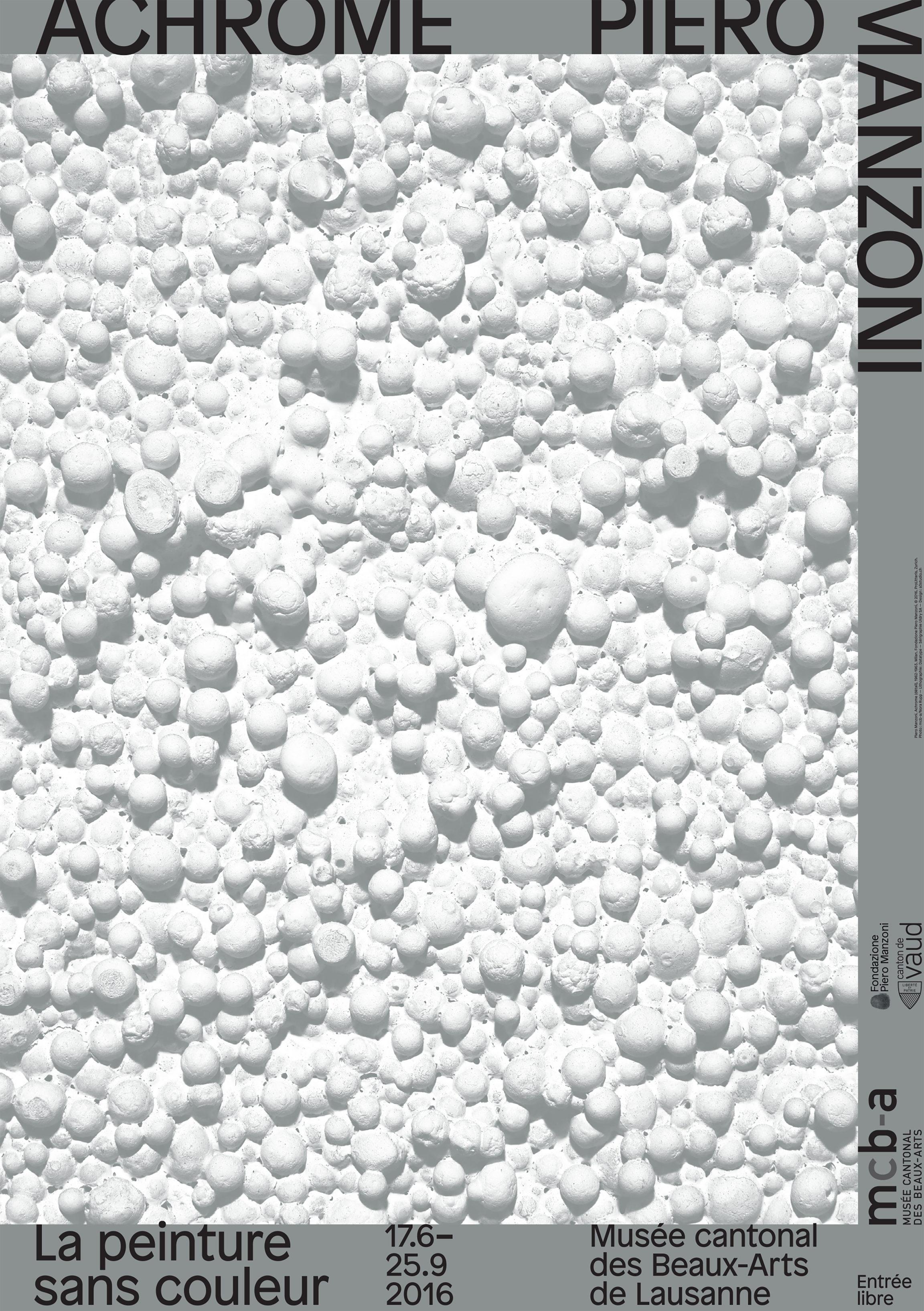 Achrome<br>Piero Manzoni, la peinture sans couleur