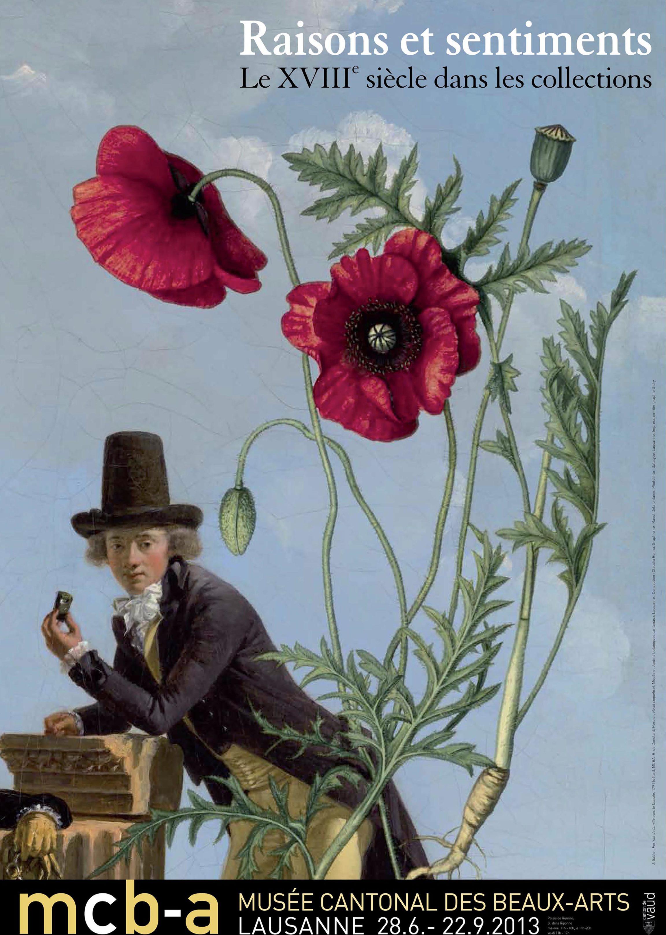Raisons et sentiments<br> Le XVIIIe siècle dans les collections du Musée