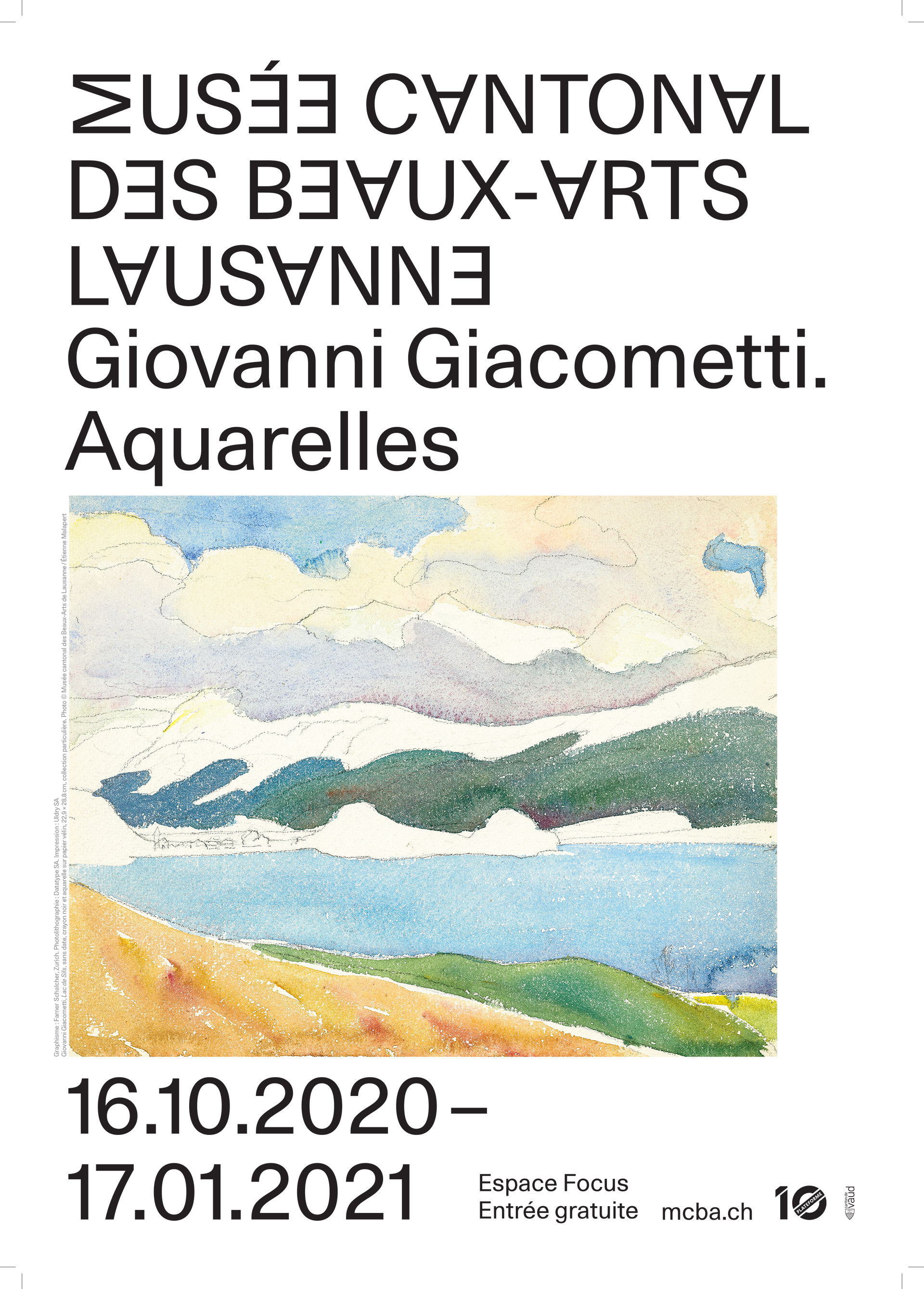 Giovanni Giacometti. Aquarelles