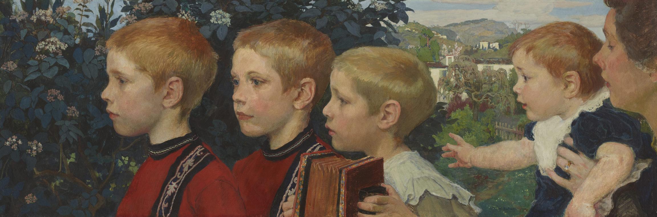 Paul Friedrich Wilhelm Balmer , Quatre frères, 1903 / 1904