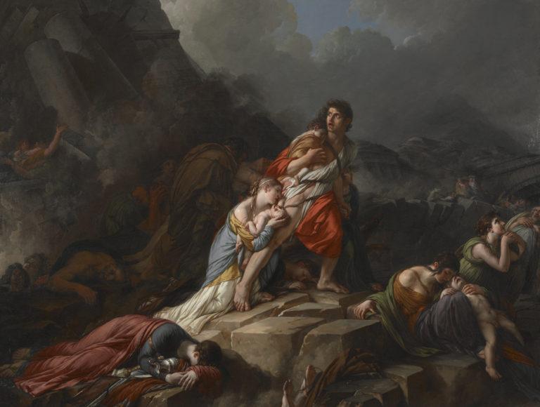 Jean-Pierre Saint-Ours, Le tremblement de terre, 1806