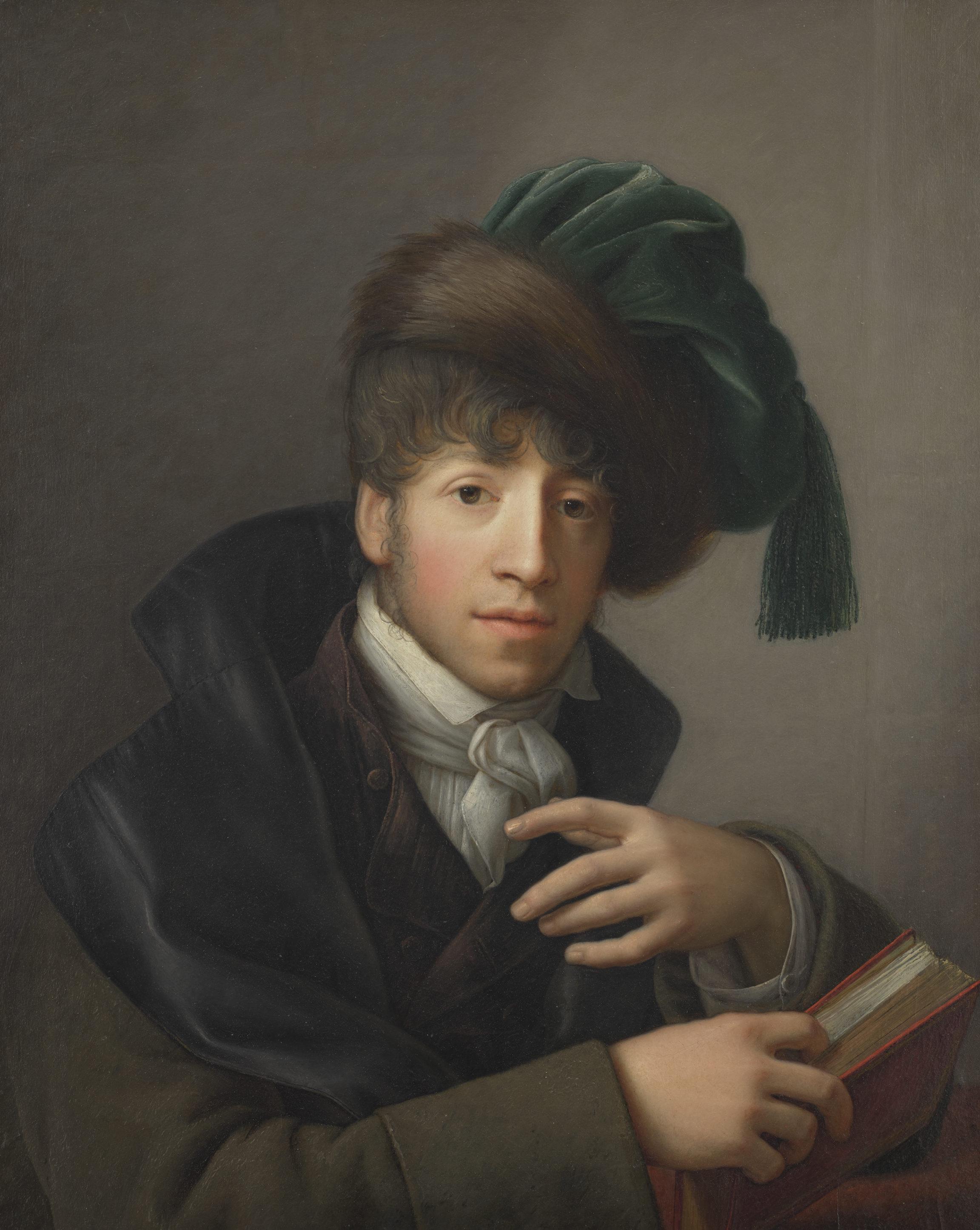 Johann Friedrich August Tischbein , Portrait de Nicolas Châtelain, vers 1800 - 1810