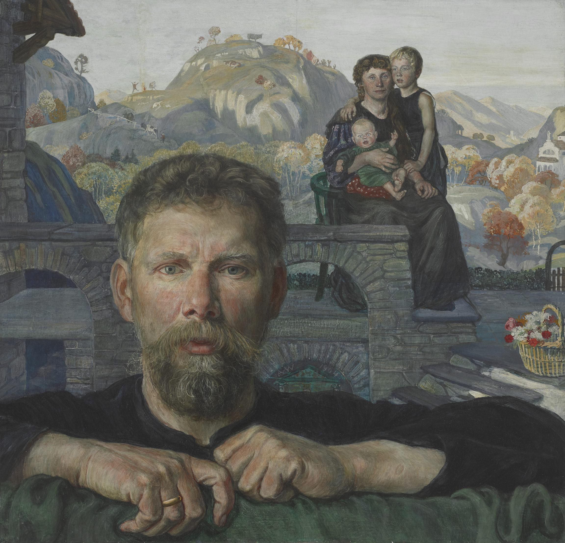 Albert Welti, Portrait de famille (Family Portrait), 1904