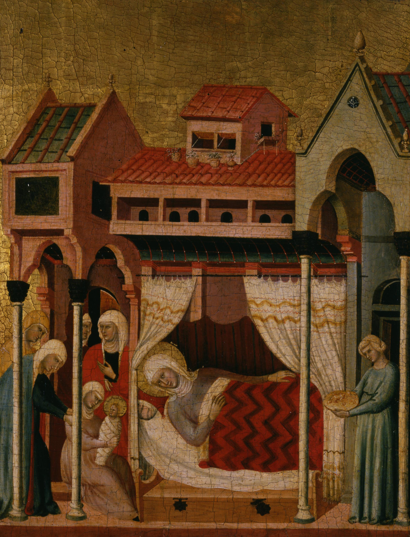 Francesco da Rimini , Naissance de la Vierge, vers 1320-1330