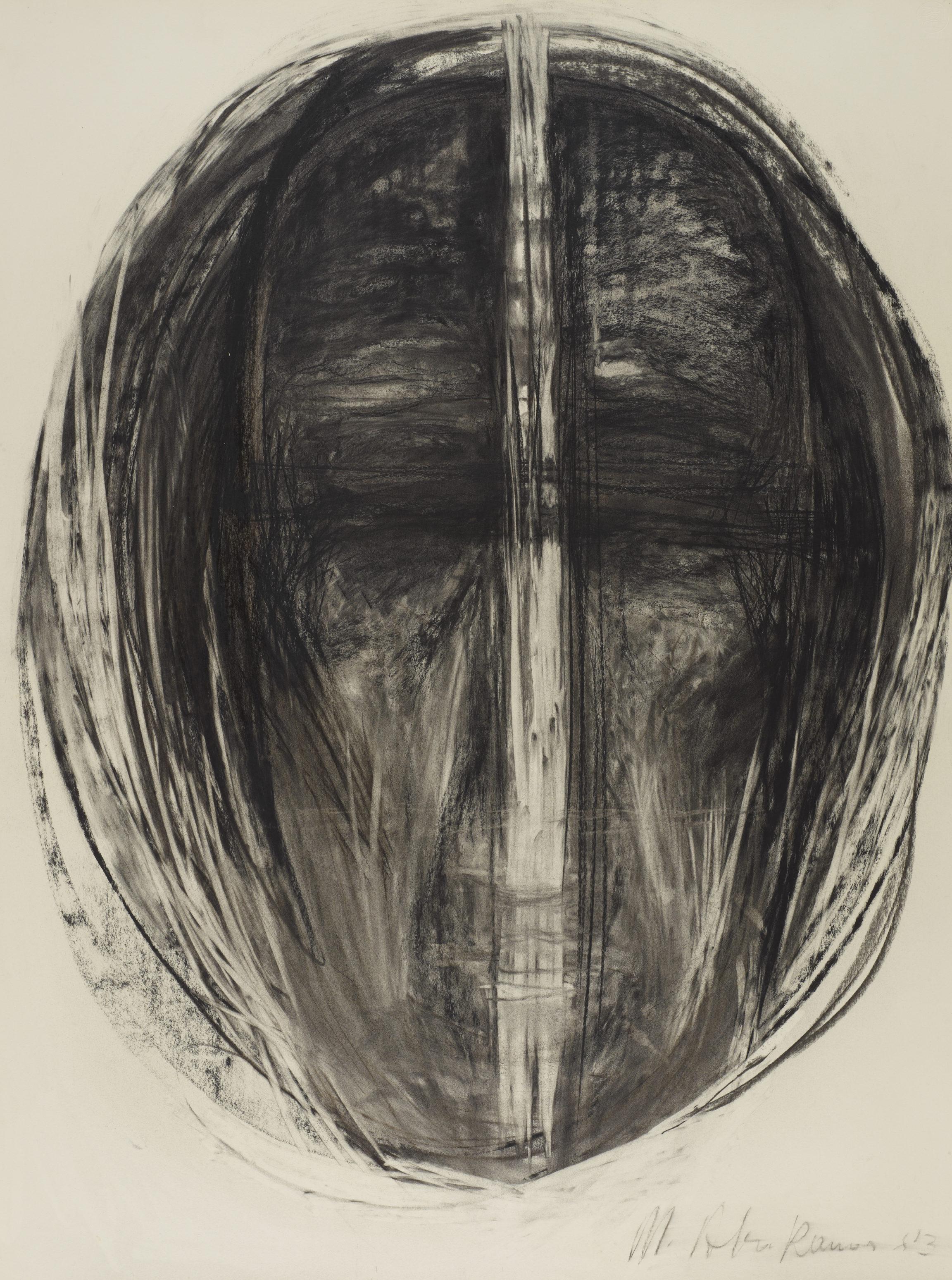Magdalena Abakanowicz, Tête, 1983
