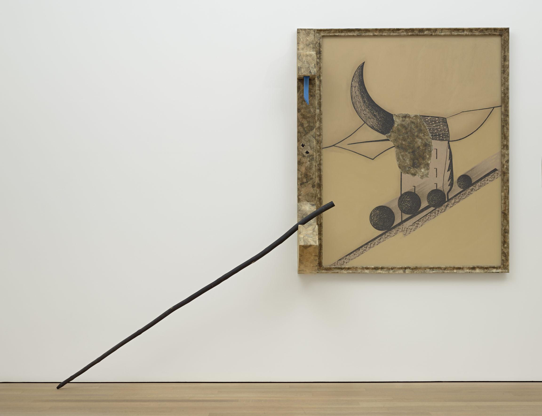 Flavio Paolucci, Peinture objet, 1983