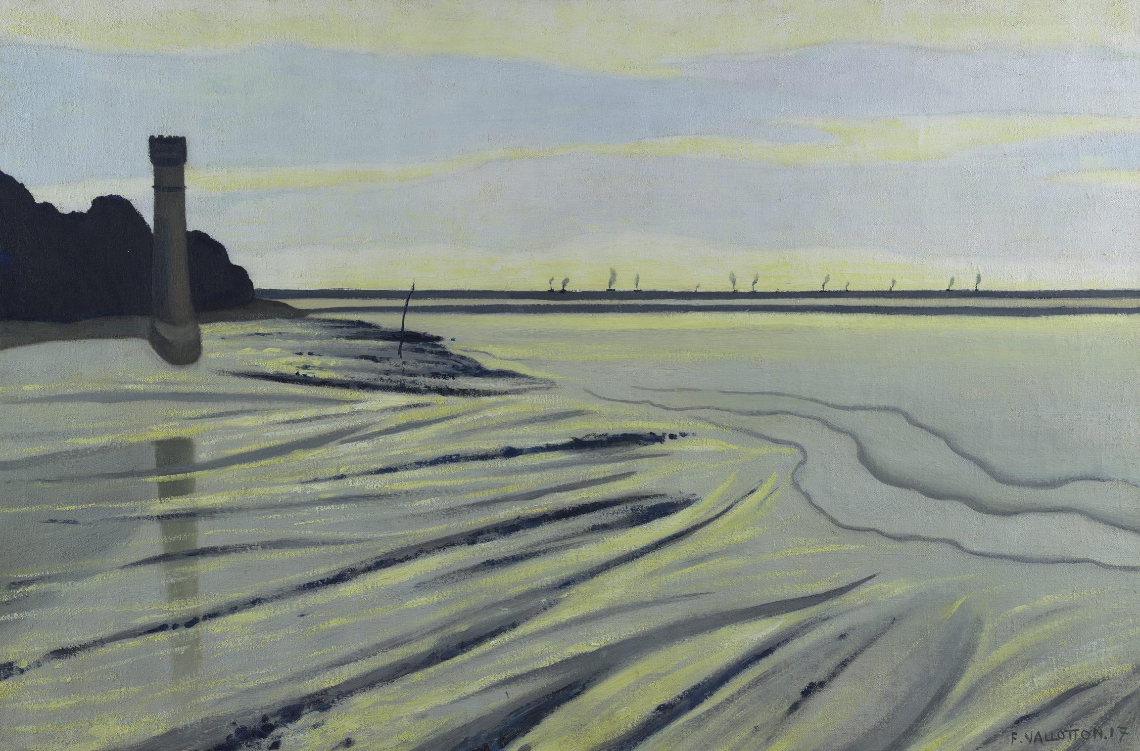 Félix Vallotton, Vases de Honfleur, 1917