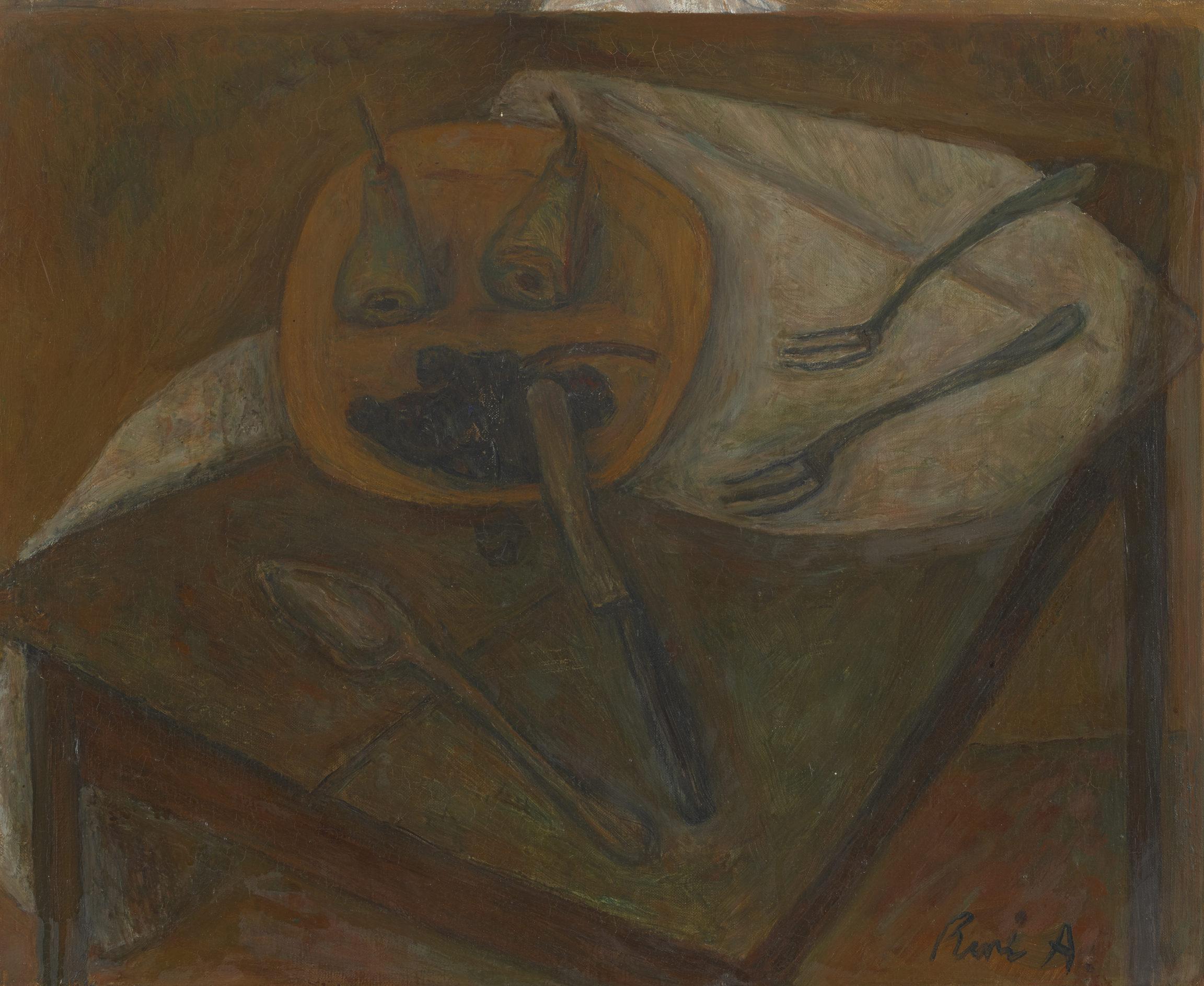 René Auberjonois , Nature morte aux fourchettes, 1953