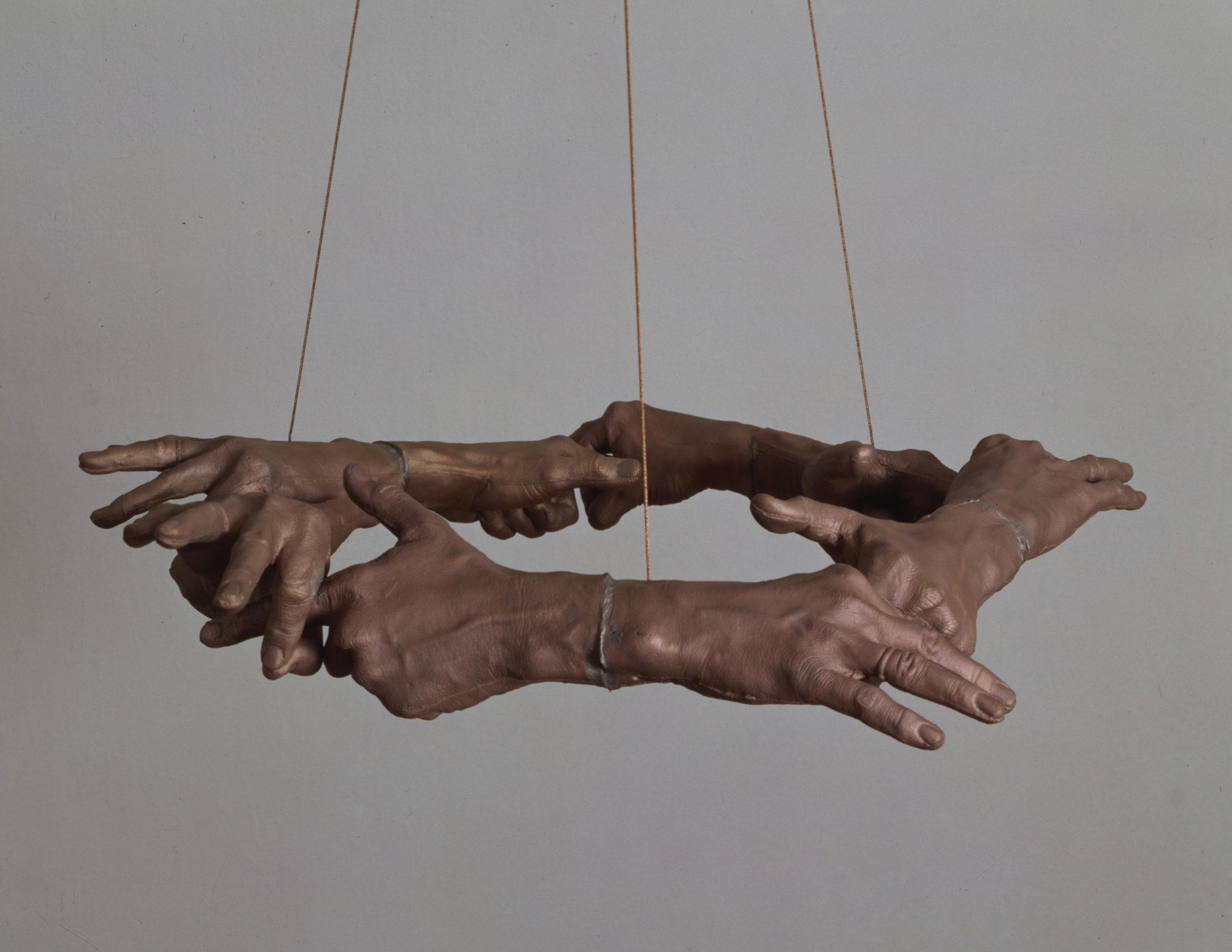 Bruce Nauman, Untitled (Hand Circle), 1996