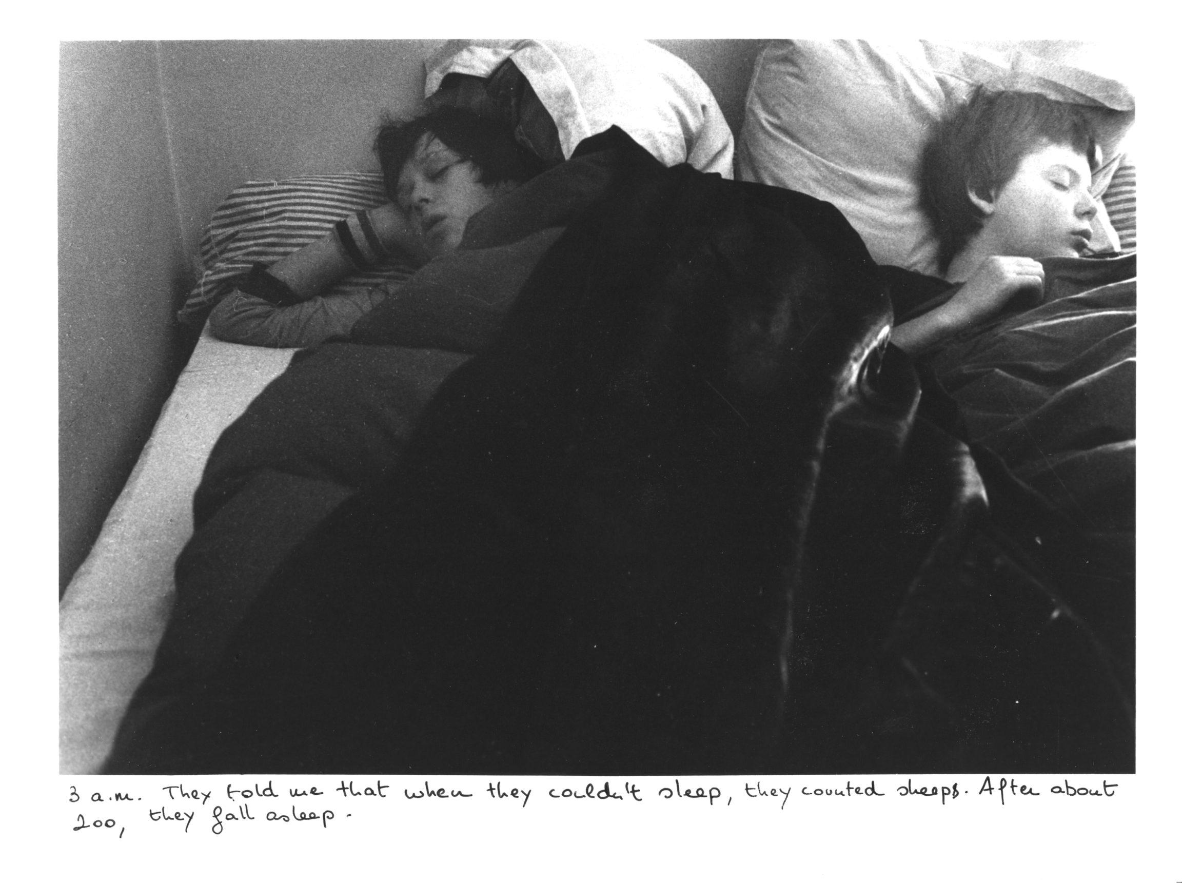 Sophie Calle , The Sleepers (Antoine Gonthier, Twentieth Sleeper, and Patrice X., Twenty-First Sleeper), 1979