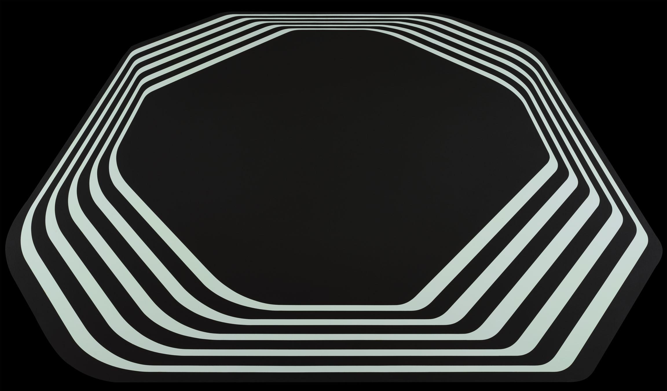 Philippe Decrauzat, Sans titre (Untitled), 2001