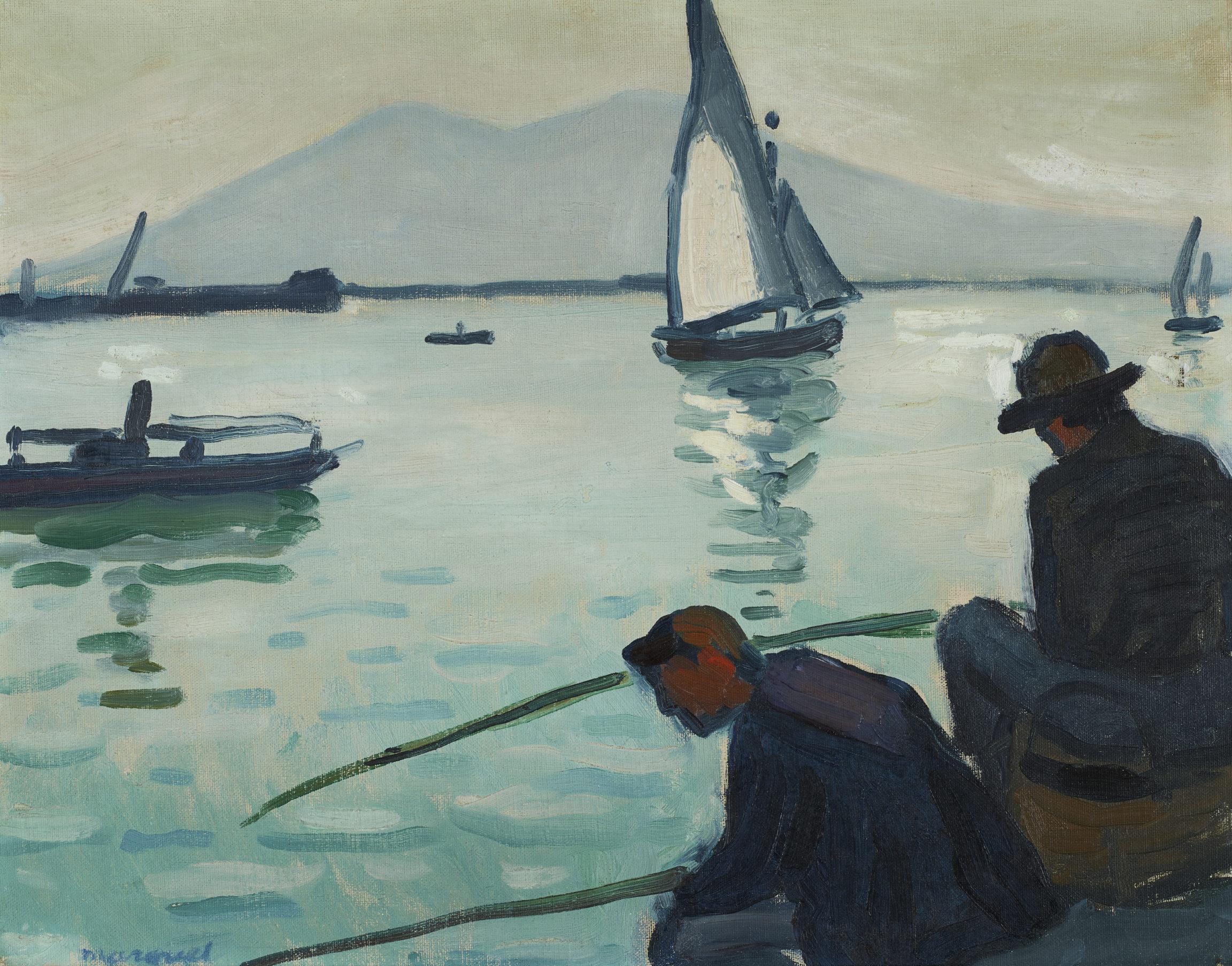 Albert Marquet, Les deux pêcheurs à Naples (Two Anglers in Naples), 1911