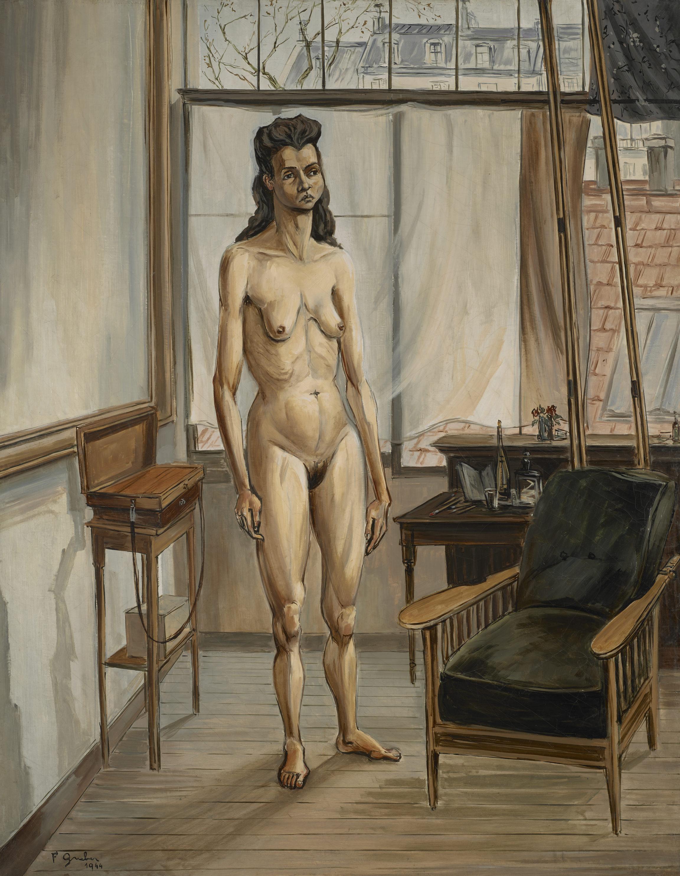 Francis Gruber, Nu dans l'atelier, 1944