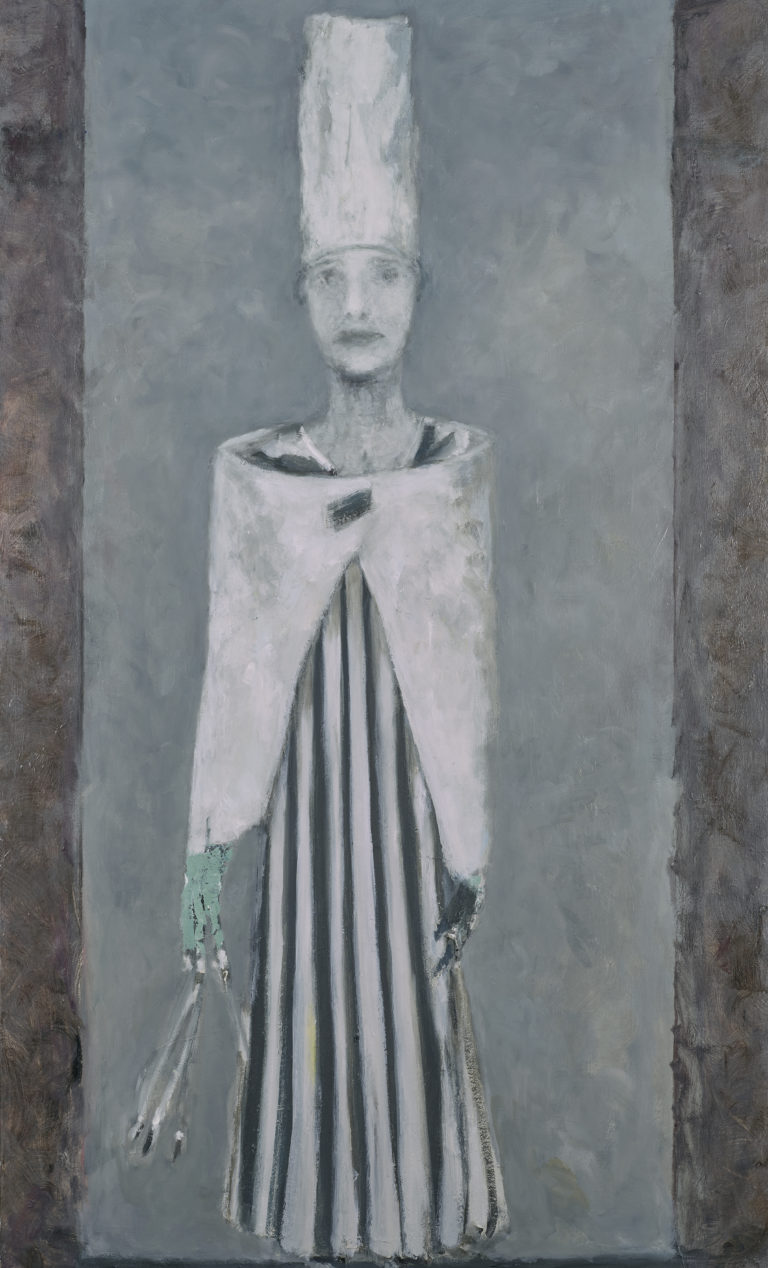 Valérie Favre, Selfportrait after Hugo Ball, Cabaret Voltaire, Zurich (1916), IV, 2016-2017