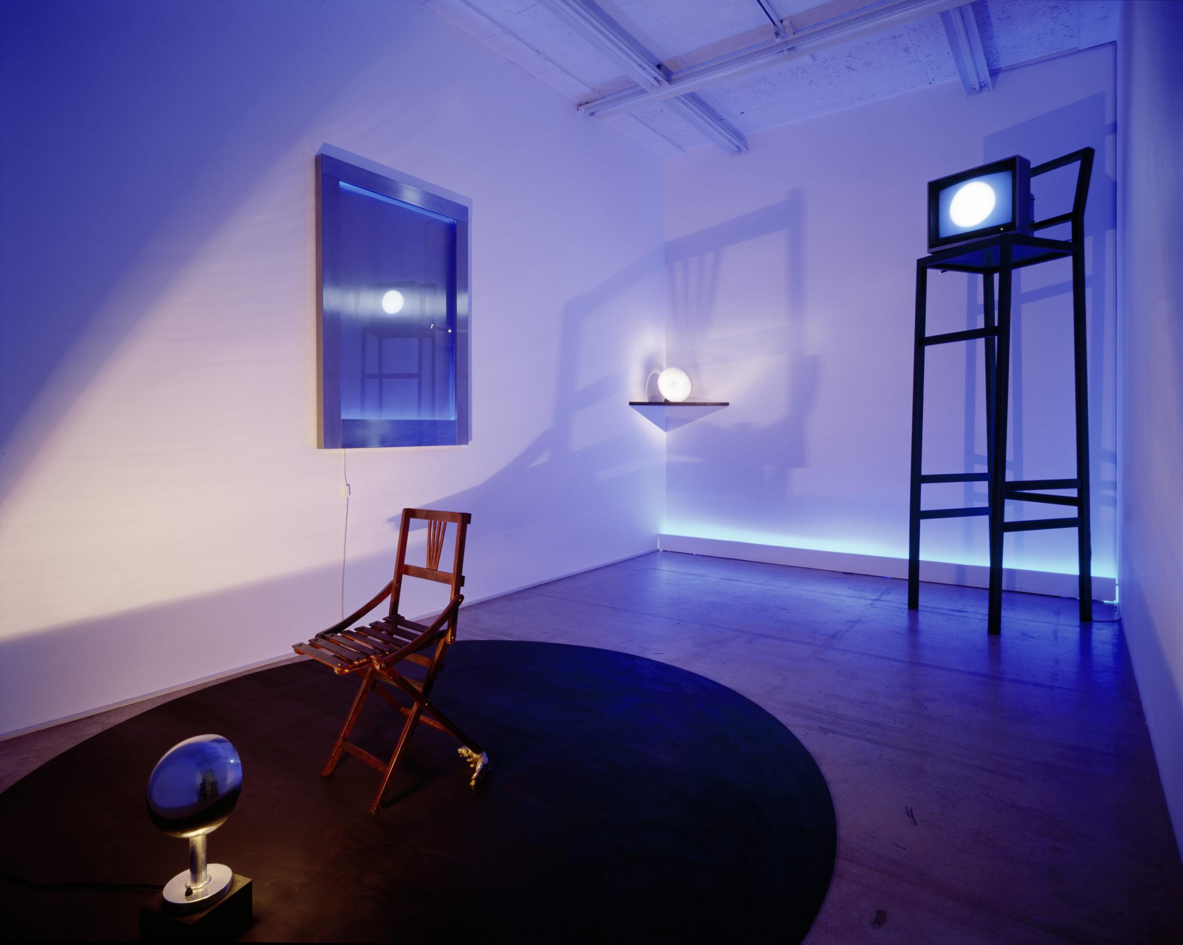 Silvie et Chérif Defraoui , La nuit, les chambres sont plus grandes, 1987