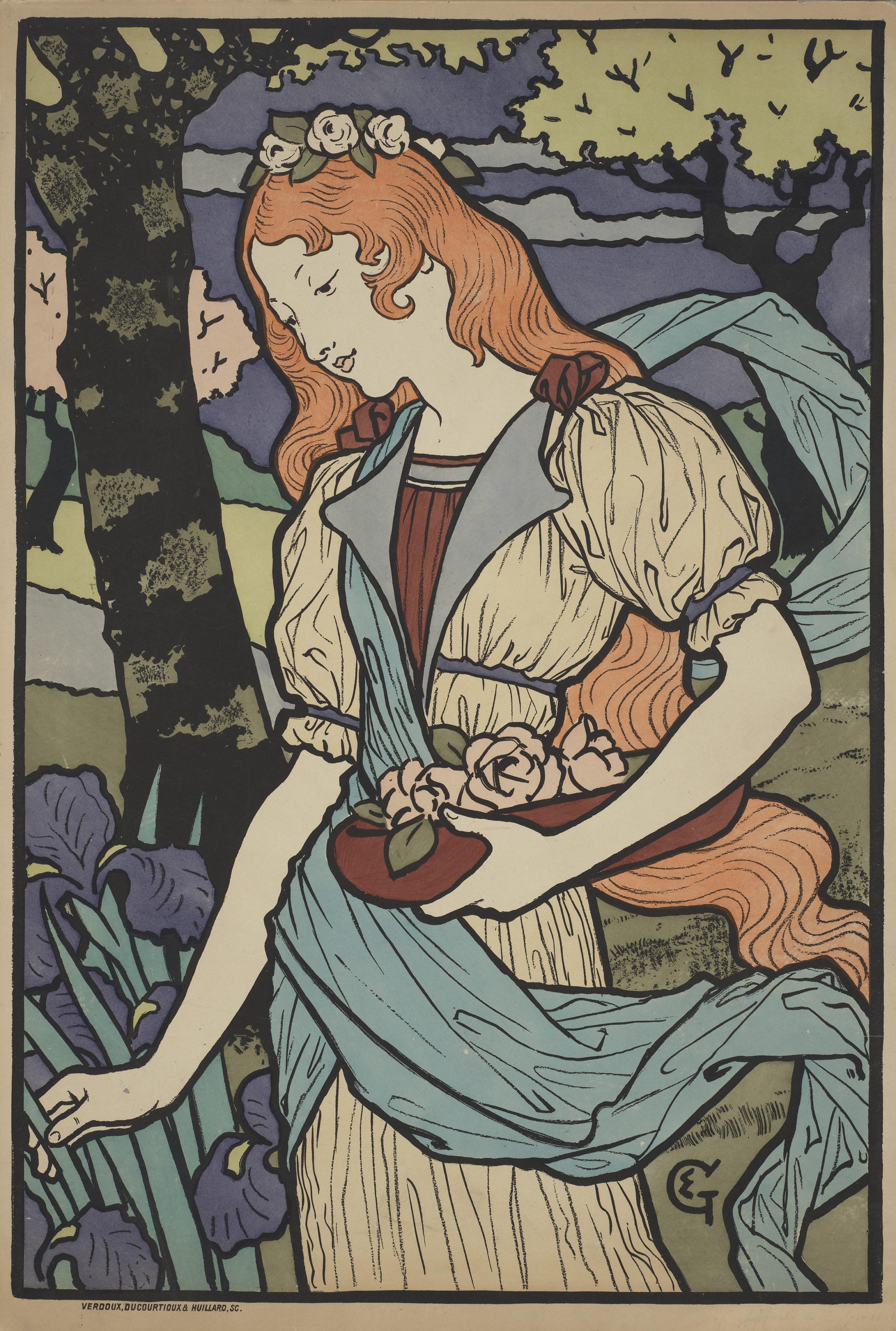 Eugène Grasset, Exposition d'art décoratif français à la Grafton Gallery de Londres, 1893