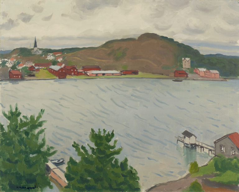 Albert Marquet, Grimstad, Norvège, 1925