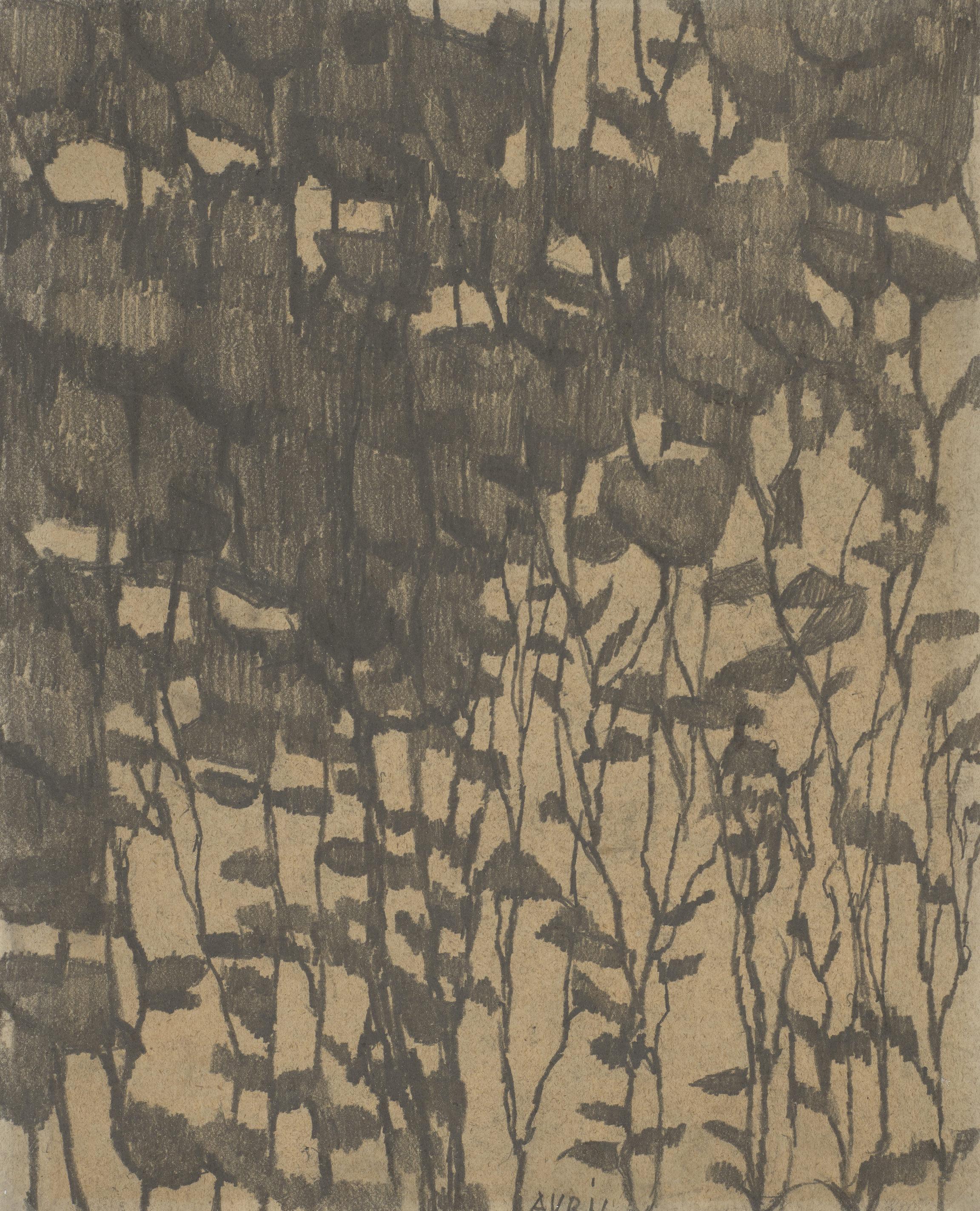 Louis Soutter, Avril, entre 1923 et 1930