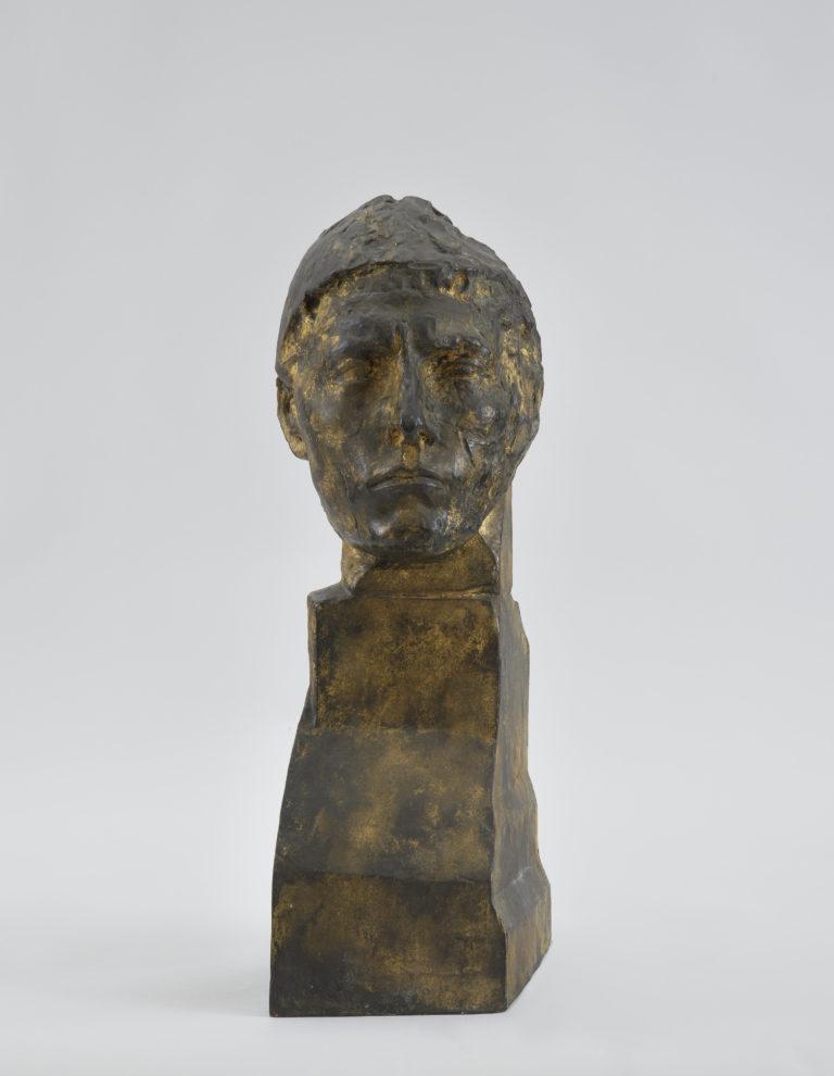 Émile-Antoine Bourdelle , Tête d'Apollon, entre 1900 et 1909
