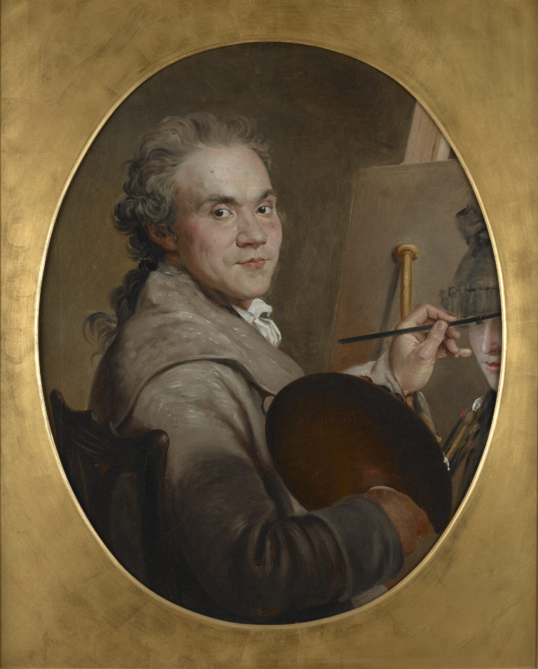 Jacques Sablet, Autoportrait, vers 1778
