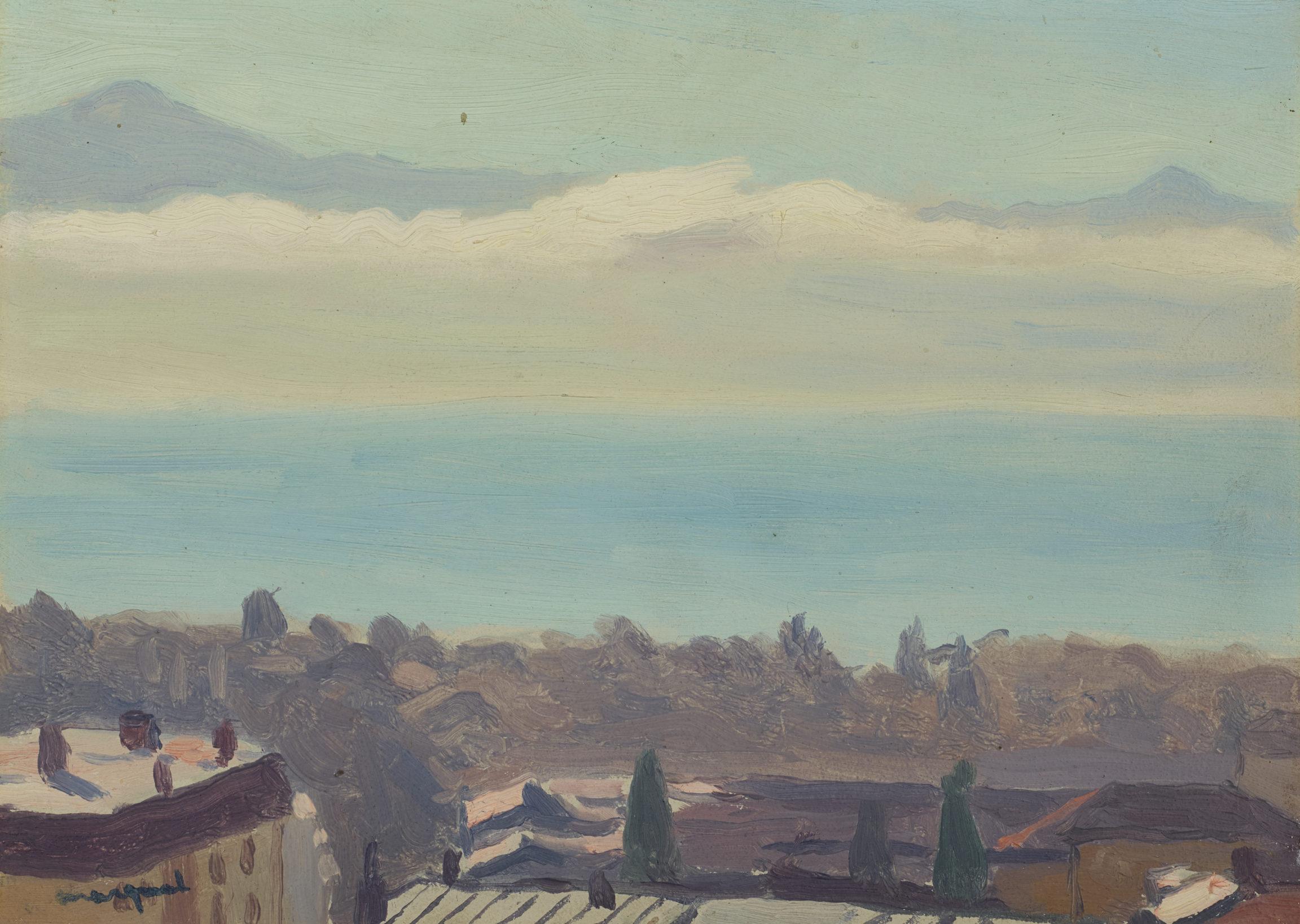 Albert Marquet, Lausanne et le lac, 1936