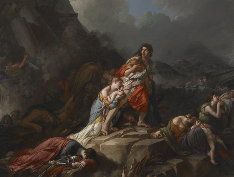 Jean-Pierre Saint-Ours, Le tremblement de terre (The Earthquake), 1806