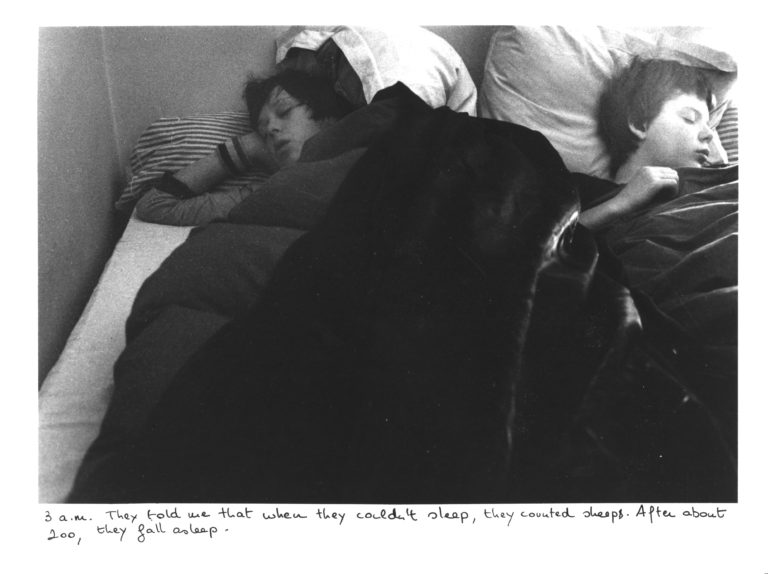 Sophie Calle , The Sleepers (Antoine Gonthier, Twentieth Sleeper, and Patrice X., Twenty-First Sleeper), 1979