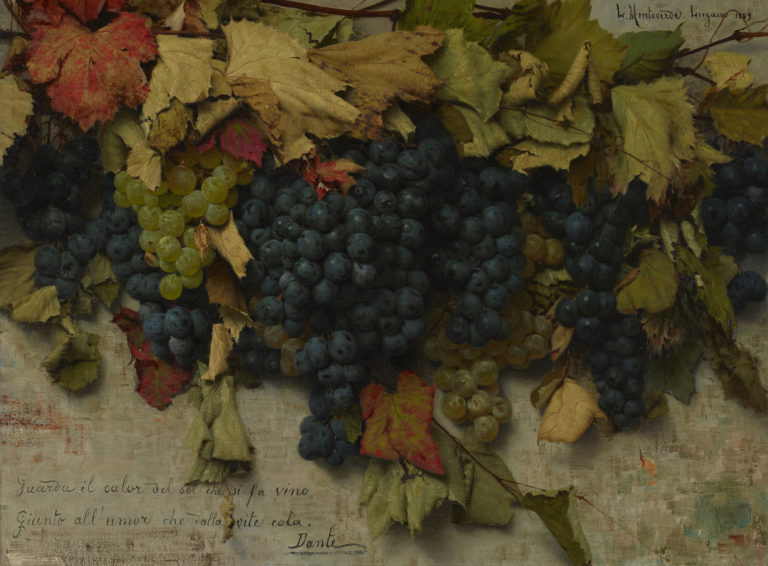 Luigi Monteverde, Raisins (Grapes), 1889