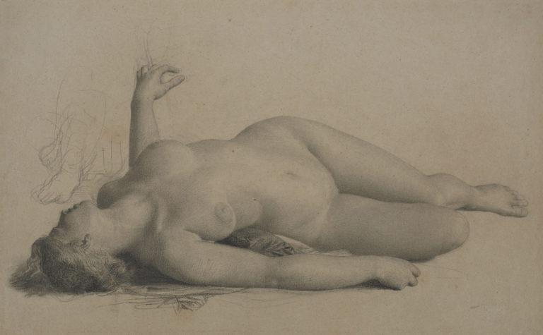 Charles Gleyre, Étude pour La danse des bacchantes, vers 1848-1849