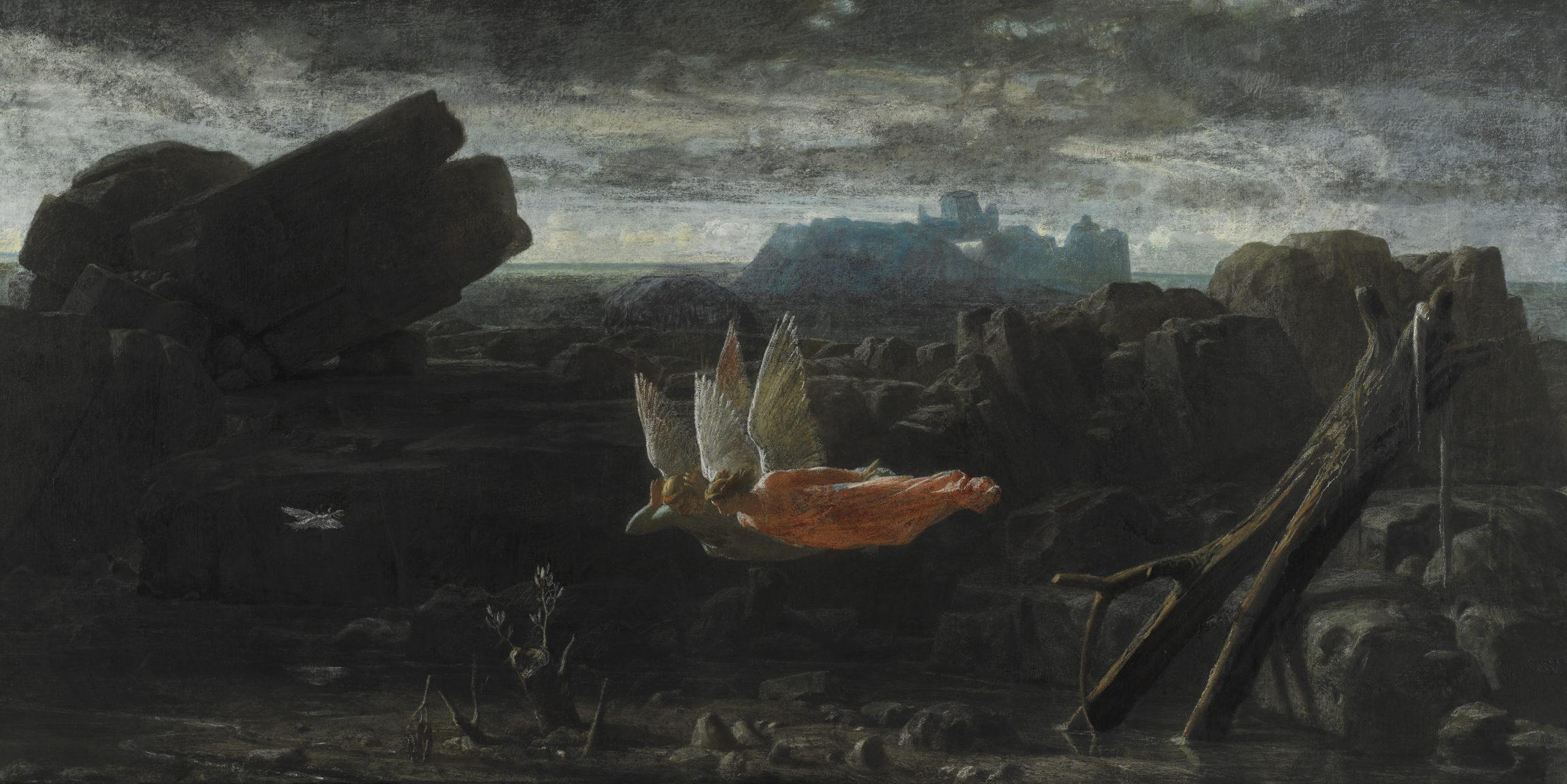 Charles Gleyre, Le Déluge, 1856