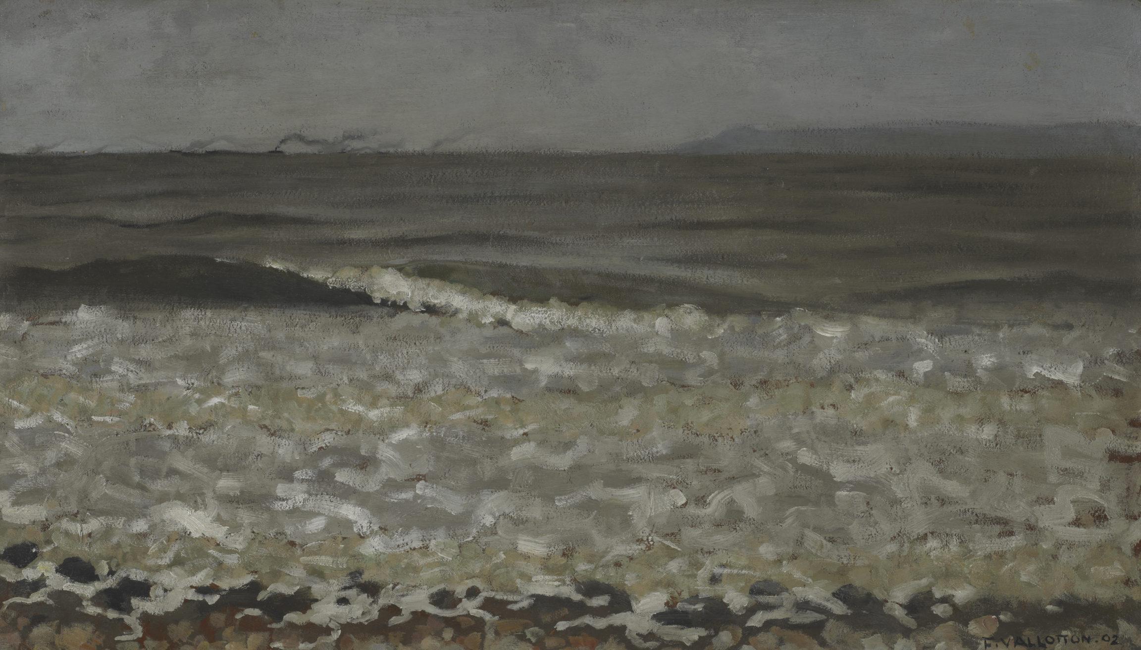 Félix Vallotton, Mer haute, Villerville, 1902