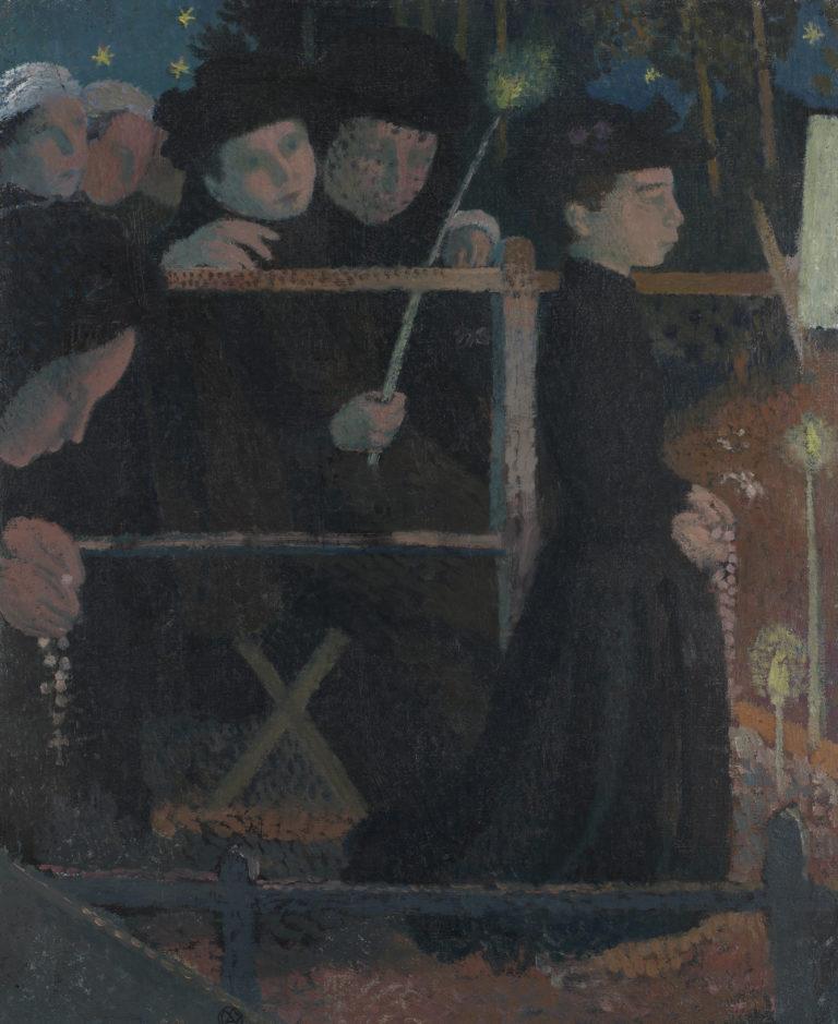 Maurice Denis, Le chapelet, vers 1890