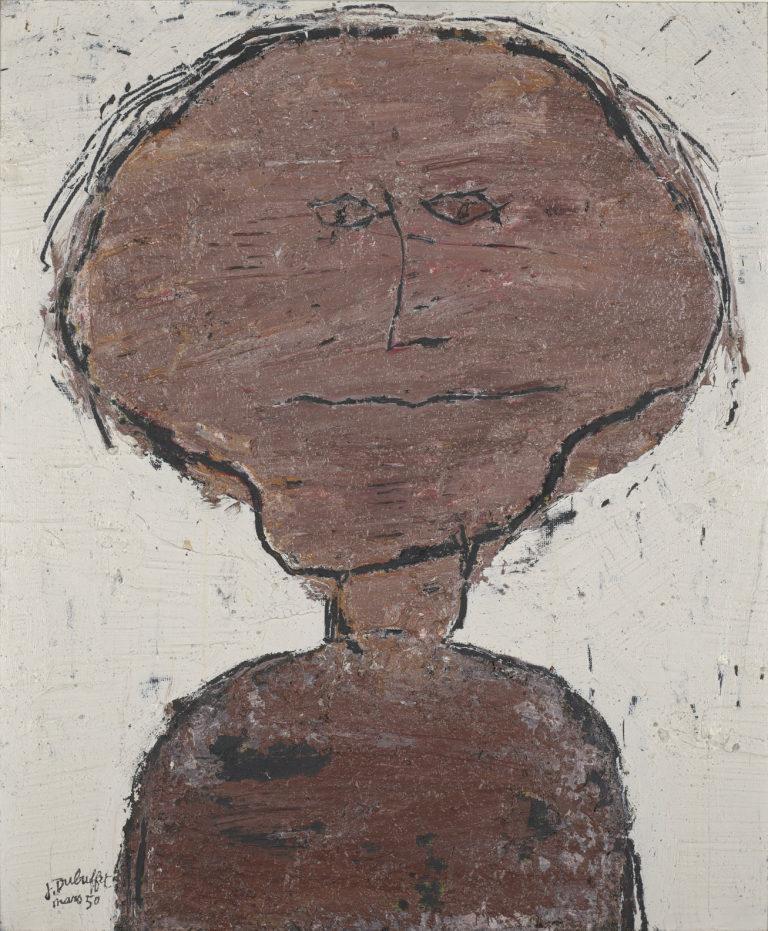 Jean Dubuffet, Petit portrait d'Antonin Artaud, 1950