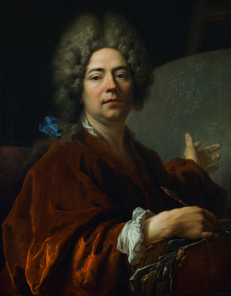Nicolas De Largillierre , Autoportrait, 1711