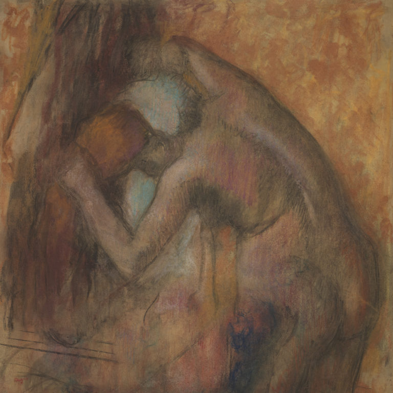 Edgar Degas, Femme s'essuyant la nuque (Woman Drying Her Neck), c. 1903